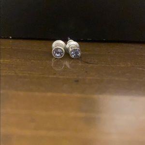 Kids Purple Stud Earrings